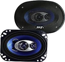Pyle 4'' x 6'' Three Way Sound Speaker System – Pro Mid Range..