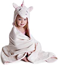 Little Tinkers World Premium Hooded Towel for Kids   Unicorn Design   Ultra Soft and..