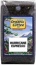 The Organic Coffee Co. Hurricane Espresso Whole Bean Coffee 2LB (32 Ounce) Medium Dark..