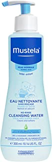 Mustela No Rinse Cleansing Water, Micellar Water Cleanser for Baby's Face, Body and..