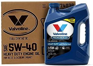 Valvoline – 774038 Premium Blue Extreme SAE 5W-40 Full Synthetic Engine Oil 1 GA, Case of 3
