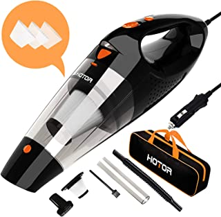 Car Vacuum Cleaner High Power, HOTOR Vacuum Cleaner for Car, DC 12V Portable Handheld..
