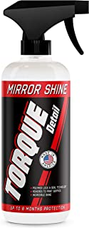 Torque Detail Mirror Shine – Super Gloss Wax & Sealant Hybrid Spray Superior..