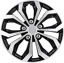 "Pilot Automotive WH553-15S-BS Black/Silver 15 Inch 15"" Spyder Performance Wheel.."