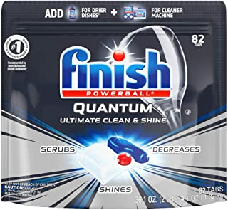 Finish – Quantum – 82ct – Dishwasher Detergent – Powerball..
