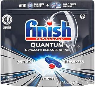 Finish – Quantum – 82ct – Dishwasher Detergent – Powerball..