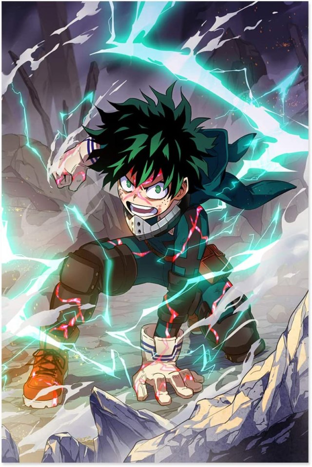 Diamond Painting Kits for Adults Japanese Anime My Hero Academia 27D Diamond  Painting Pictures Arts Craft Round Crystal Rhinestone Embroidery for Home