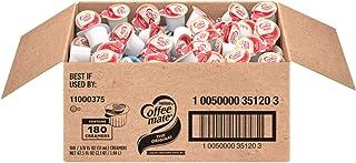 Nestle Coffee mate Coffee Creamer Liquid Creamer Singles, Original, 180 Count Box