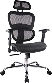 Home Office Chair Mesh Ergonomic Computer Chair with 3D Adjustable Armrests Desk Chair