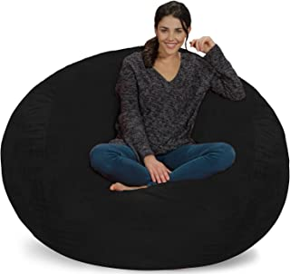 Chill Sack Bean Bag Chair: Giant 5' Memory Foam Furniture Bean Bag – Big Sofa..