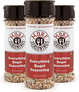 Sponsored Ad - MORE Seasonings Everything Bagel Seasoning - Everything Seasoning Mix for Home Cooking - Mix of Toasted Ses...