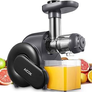 Juicer, Aicok Slow Masticating Juicer with Quiet Motor, Upgrade Filter Juice Machine for..