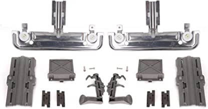 W10712395 W10350375 Durable Dishwasher rack Adjuster Kit with instructions for Kenmore..
