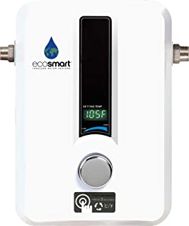 EcoSmart ECO 11 Electric Tankless Water Heater, 13KW at 240 Volts with Patented Self..