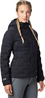 Mountain Hardwear Super/DS Hooded Women's Insulated Jacket for Hiking, Camping, Climbing and Everyday