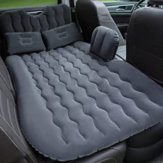 Onirii Inflatable Car Air Mattress Bed with Back Seat Pump Portable..