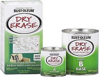 Rust-Oleum 241140 Specialty Dry Erase Brush-On Paint Kit, White