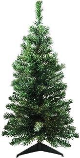 "Northlight 3' x 18"" Mixed Classic Pine Medium Artificial Christmas Tree – Unlit"