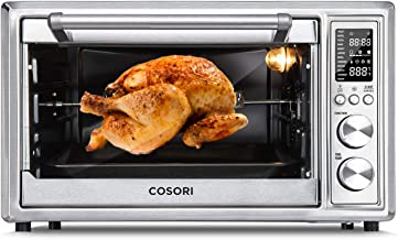 COSORI CO130-AO 12-in-1 Air Fryer Toaster Oven Combo Convection Roaster with Rotisserie..