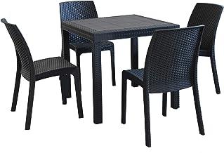 Amazonit Tavolo Da Giardino Con Sedie