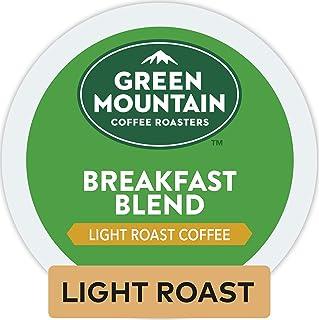 Green Mountain Coffee Roasters Breakfast Blend, Single-Serve Keurig K-Cup Pods, Light..