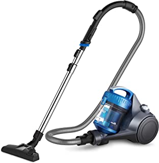 Eureka WhirlWind Bagless Canister Cleaner NEN110A Lightweight corded vacuum for carpets..