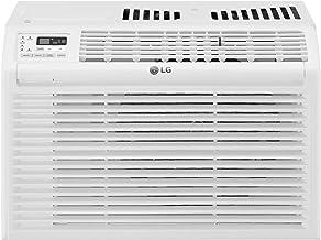 LG LW6017R 6,000 BTU 115V Window Air Conditioner, White