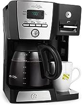 Mr. Coffee BVMC-DMX85-RB 12-cup Programmable Coffeemaker Coffee Maker, 16-Ounce, Black/Chrome