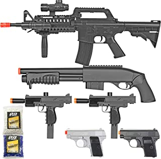 BBTac Airsoft Gun Package – Black Ops – Collection of Airsoft Guns –..