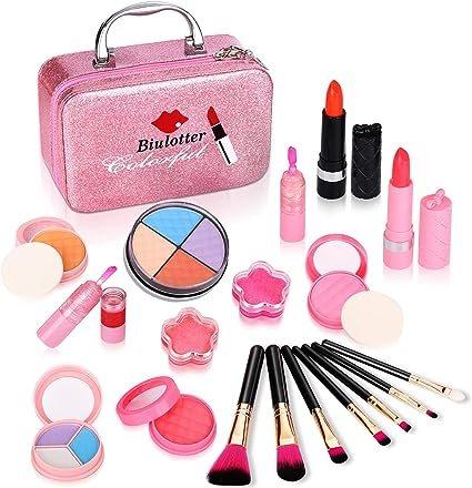 Biulotter 21pcs Kids Makeup Kit For