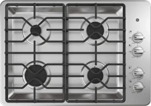 GE JGP3030SLSS 30 Inch Gas Cooktop with MAX System, Power Broil, Simmer, Continuous..