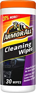 Armor All Car Interior Cleaner Wipes for Dirt & Dust – Cleaning for Cars &..