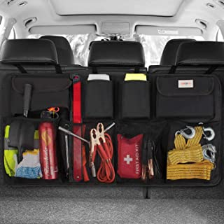 SURDOCA Car Trunk Organizer – 3rd Gen [8 Times Upgrade] Super Capacity Car Hanging..