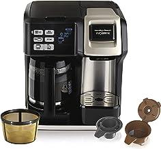 Hamilton Beach FlexBrew Coffee Maker, Single Serve & Full Pot, Compatible with K-Cup..