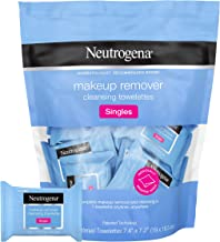 Neutrogena Makeup Remover Facial Cleansing Towelette Singles, Daily Face Wipes to Remove..