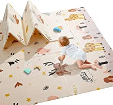 Baby Play Mat, Extra Large Baby Crawling Mat, Portable Waterproof Non Toxic Soft Foam,..