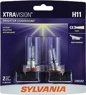 SYLVANIA – H11 XtraVision – High Performance Halogen Headlight Bulb, High..