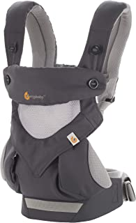 Ergobaby 360 All-Position Baby Carrier with Lumbar Support and Cool Air Mesh (12-45..