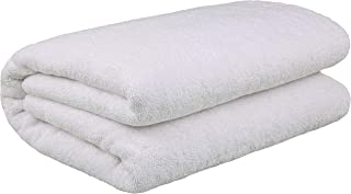 40×80 Inches Jumbo Size, Thick & Large 650 GSM Ringspun Genuine Cotton Bath..