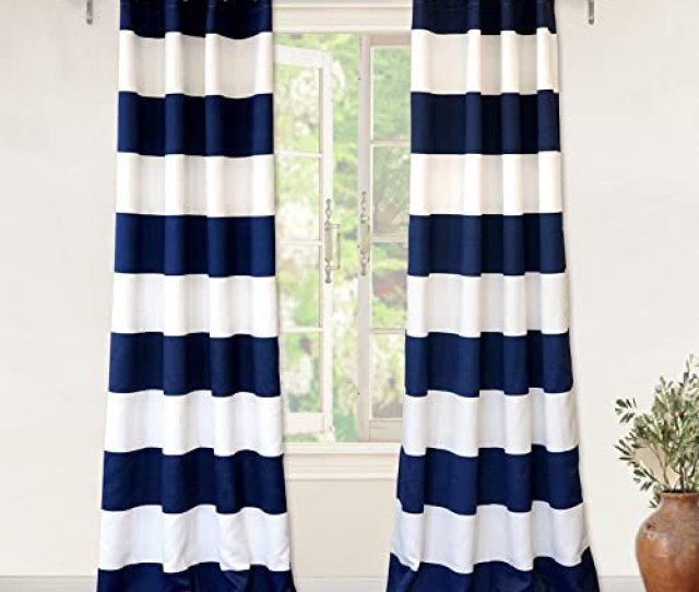 Nautical Curtains Amazon Com