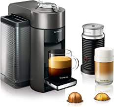 Nespresso by De'Longhi Vertuo Evoluo Coffee and Espresso Machine, Titan