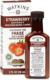 Watkins All Natural Extract, Imitation Strawberry, 2 Ounce, 1-Pack