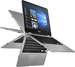 """ASUS Vivobook Flip 14 Thin and Light 2-in-1 Laptop, 14"""" HD Touchscreen, Intel Quad-Core.."""