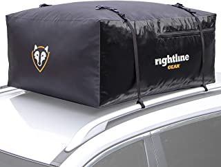 Rightline Gear Sport 2 Car Top Carrier, 15 cu ft, 100% Waterproof, Attaches With or..