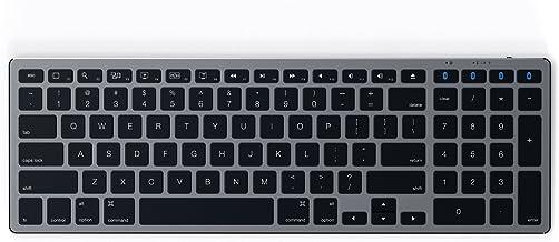 Satechi Aluminum Slim Wireless Keyboard with Numeric Keypad – Compatible with iMac..