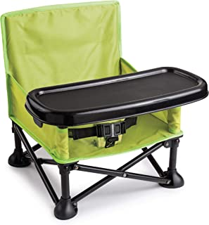 Summer Pop 'n Sit Booster Seat, Green – Booster Chair for Indoor/Outdoor Use –..