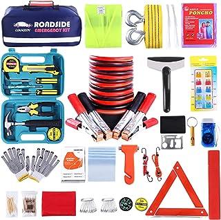 Roadside Assistance Emergency Kit – Multipurpose Emergency Pack Car Premium Road..
