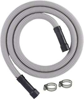 LDR Industries Dishwasher Water Discharge Drain Hose, For Dishwashers With 5/8 Inch, 3/4..