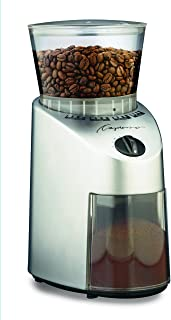 Capresso 560.04 Infinity Conical Burr Grinder, Brushed Silver