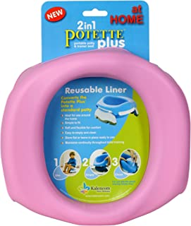 Kalencom Potette Plus At Home Reusable Liners, Pink (Discontinued by Manufacturer)